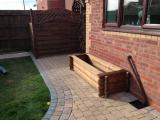 Block Paving and Planter